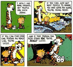 Calvin and Hobbes wisdom
