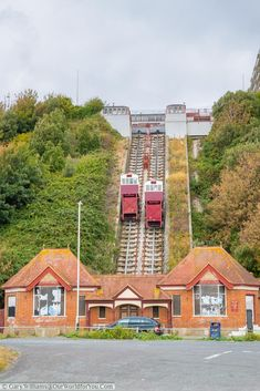 The Leas Lift, a victorian ventricular railway that carried visitors from the Leas high above the beach down to see level. The entrance at the base is now boarded up while they try to raise funds to bring the lift up to modern standards. You Are The World, Our World, Kent Coast, British Lions, Old Pub, Battle Of Britain, England And Scotland, Isle Of Wight, Grand Hotel