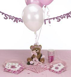 Teddy Bear Centerpieces, Teddy Bear Theme Baby Shower, Teddy Bear Balloons at Set To Celebrate
