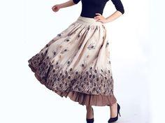 Charming long skirt