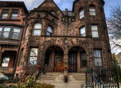 F. Scott Fitzgerald row house St. Paul, MN