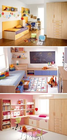 Modern and Colorful Kids Room Decor Ideas by KIBUC