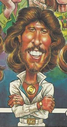 Australian Pop group The Bee Gees (L-R Maurice Gibb, Robin Gibb and Barry Gibb)… Cartoon Faces, Funny Faces, Cartoon Art, Cartoon Characters, Caricature Artist, Caricature Drawing, Drawing Art, Funny Caricatures, Celebrity Caricatures