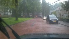 infiltratiegoot, regenwater afkoppeling en beheersing in een woonwijk (Van Straalen Realisatie)