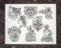 Flash Sheet Prints on Behance