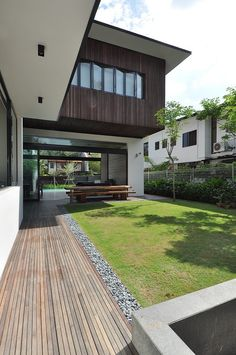 sunset terrace house architology 15 Stylish Bungalow Inspired Residence in Singapore: Sunset Terrace House