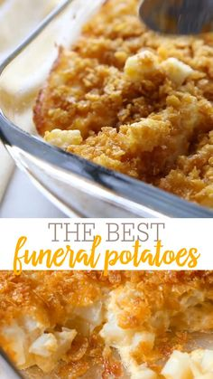 Easy Cheesy Potatoes, Cheesey Potatoes Casserole, Chessy Potatoes, Potatoe Casserole Recipes, Cream Butter, Sour Cream, Party Potatoes, Hash Browns, Veggie Side Dishes