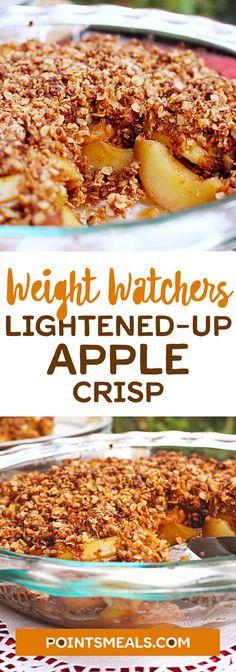 Lightened-Up Apple Crisp
