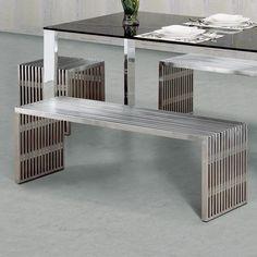Novel Stainless Steel #Bench