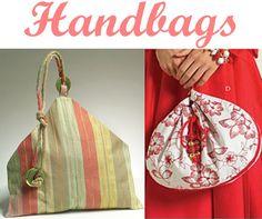 Handbag Pattern McCalls M5340 UNCUT Round by ThePerfectPattern