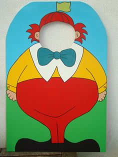Tweedle Dee and Tweedle Dum Photo Prop - Individual Characters - Alice in Wonderland on Etsy, $75.00