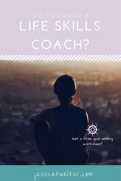 Do you need a life skills coach? | http://jessicafwalker.com | life skills coach | life coach | career coach | adulting | working | career advice | budgeting | saving | money | debt | self care | work life balance |