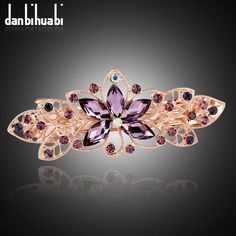 hair clips for women crystal: Big Discount danbihuabi Fashion Girls Rhinestone H...