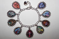 hand-made Monster High adjustable charm bracelet available at www. Monster High Party Supplies, Charmed, Fan Art, Bracelets, Handmade, Jewelry, Hand Made, Jewlery, Jewerly