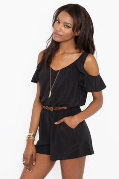 Ruffled romper!!..this will b a long while after baby lol but oh so cute!!