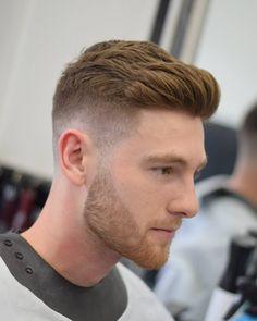 Texture Fade and Beard Trim
