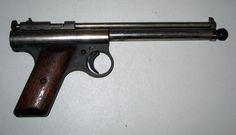 Vintage 1930's Benjamin Franklin Model 100 Pellet .175 Cal BB Gun Pistol #BP76 #BenjaminFranklin