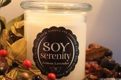 Enter to win Two Medium Jar Candles from The Serenity Candle Company in your choice of scents!