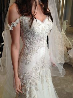 We can make a very close or similar replica of any couture #weddingdresses for a fraction of the original cost at www.dariuscordell.com  Email us for pricing on your dream dress if it is out of your price range to see how much we can save you.  We are in the USA and can work with brides of any size no matter where you live.