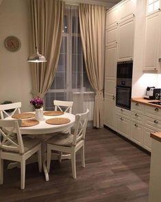 18 Trendy Home Design Vintage Small Spaces Kitchen Desk Organization, Kitchen Desks, Home Decor Kitchen, Interior Design Kitchen, Home Kitchens, Cozy Kitchen, Space Kitchen, Elegant Kitchens, Trendy Home