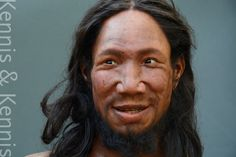 reconstruction of a European man who lived around years ago called Oase Man. Forensic Facial Reconstruction, European Men, Saints And Sinners, Forensic Science, Mother And Father, Couples In Love, Anthropology, Prehistoric, Anthropologie