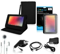 Ionic Black Stand Leather Case Cover with Charger and Screen Protector For Google Nexus 10 Tablet (6-item)[Smart Cover Function: Automatically Wakes and Puts the Nexus 10 to Sleep] , http://www.amazon.ca/dp/B009Z3OUCC/ref=cm_sw_r_pi_dp_GH0Vsb1W2KKZF
