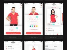 Download UI kit for ecommerce mobile app PSD UI - http://www.vectorarea.com/download-ui-kit-for-ecommerce-mobile-app-psd-ui