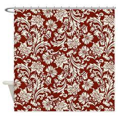 Shower Curtain by artonwear - CafePress Custom Shower Curtains, Fabric Shower Curtains, Bathrooms, Delicate, Prints, Design, Decor, Red