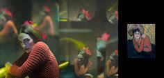 O fotógrafo espanholEugenio Recuenco decidiu homenagear o artista Pablo Picasso.    Ele vestiu modelos de forma semelhante aos trajes vistos nas obras cubistas de Picasso e as fotografias incorporam o efeito das obras de maneira bem particular.  ...
