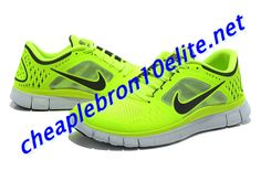 88748452a2fd Electric Yellow Nike Free Run 3 Mens Green and Black 510642 702