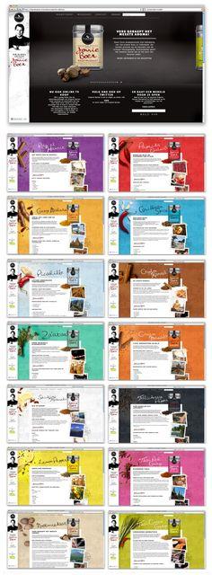Website concept Jonnie Boer / Euroma
