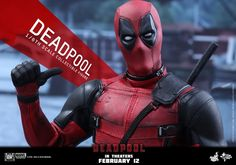 """deadpool MMS347 Deadpool - Deadpool """"Wait 'til you get a load of me."""" Marvel's most unconventional superhero, Deadpool, will finally hit the silver screen in fu"""