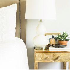 DIY bedside table