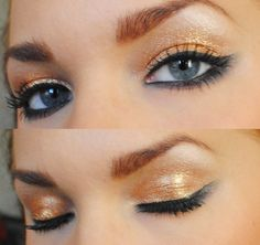 Shimmery Bronze #makeup
