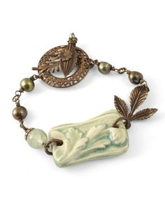Victorian bracelet from Vintaj blog