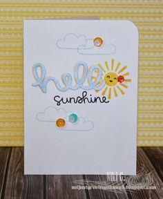 Stampn'HI: Hello Sunshine: CAS style
