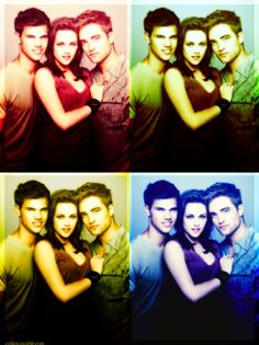 TWILIGHT (Jacob, Bella & Edward)