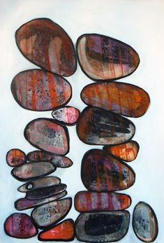 Balancing stones - Full-frontal image, unframed