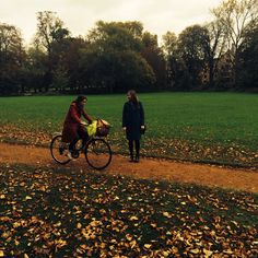 Standing on the Backs as a student cycles past. Could it be Eva? Cambridge Street, Our Life, Past, Student, Couples, Paisajes