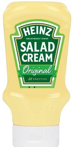 Heinz Salad Cream    Squeezy bottle    435g    Asda price £2.00    BB to follow | Shop this product here: http://spreesy.com/DiscountFoodsofLincoln/317 | Shop all of our products at http://spreesy.com/DiscountFoodsofLincoln    | Pinterest selling powered by Spreesy.com