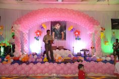 #Balloon fillers and #Helium #regulators Wedding Stage Decorations, Balloon Decorations Party, Balloon Garland, Birthday Decorations, Birthday Party Themes, Birthday Ideas, Sofia Party, Mylar Balloons, Event Management