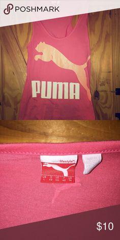 PUMA tank Worn a couple of times. Like new. Puma Tops Tank Tops