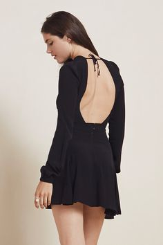SALE! 30% OFF! The Magpie Dress  https://thereformation.com/products/magpie-dress-black