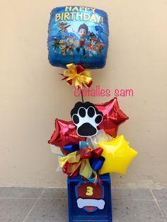 Paw Patrol Party, Paw Patrol Birthday, Balloon Arrangements, Balloon Decorations, Boy Birthday Parties, 3rd Birthday, Cumple Paw Patrol, Balloon Bouquet, Balloons