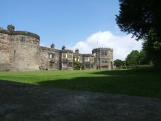 Skipton castle in North Yorkshire, England