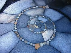 Stone spirals