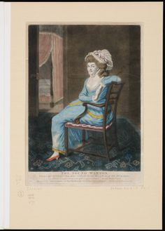 Long sleeves 1770s! The Young Wanton, 1776,  Lewis Walpole Library Digital Collection