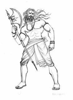 There are four main sects within Hinduism: Shaivism, Vaishnavism, Shaktism, Smartism, in which six main gods are worshiped Shiva Art, Hindu Art, Mahakal Shiva, Lord Shiva, Art Drawings Sketches, Animal Drawings, Warrior Concept Art, Human Body Drawing, Shiva Tattoo Design