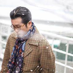 gentlemenwear: Be inspired by Chad Park! ... - Bows-N-Ties