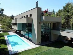 Resultado de imagem para casa de vidro designe grego